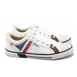 Мъжки спортни обувки S.Oliver 5-13622-26 бял