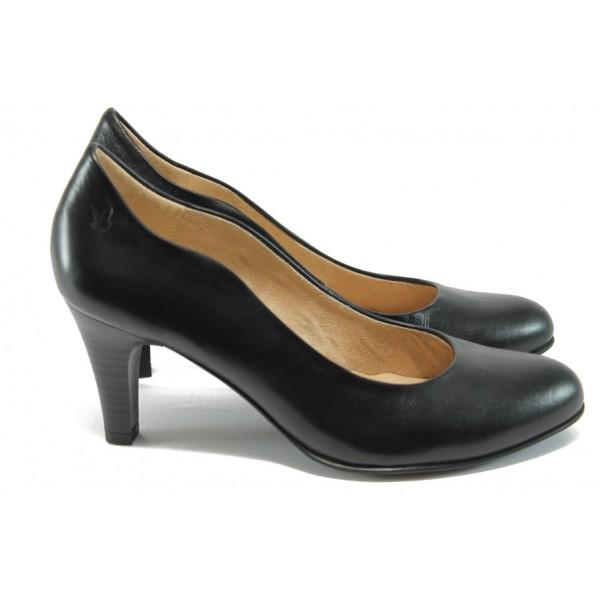 Дамски обувки на висок ток Caprice 9-22406-26 черен ANTISHOKK