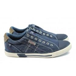 Мъжки спортни обувки S.Oliver 5-14602-26 син