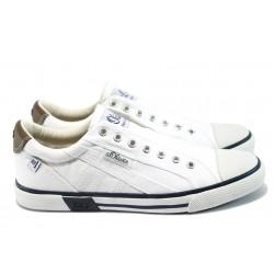 Мъжки спортни обувки S.Oliver 5-14602-26 бял