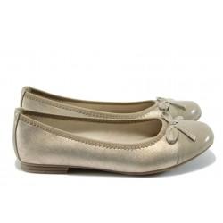 Равни дамски обувки Jana 8-22108-26 бежов
