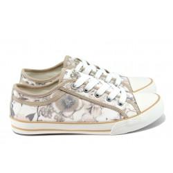 Дамски спортни обувки S.Oliver 5-23636-26 бежов