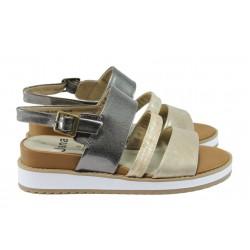 Дамски сандали на платформа Jana 8-28602-26 бежов