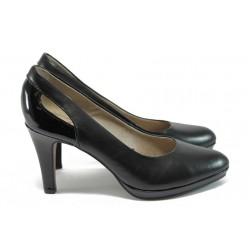 """Елегантни дамски обувки с """"мемори"""" пяна s.Oliver 5-22411-26 черен"""