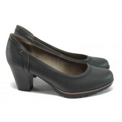 Класически дамски обувки за Н крак Jana 8-22465-27 черен