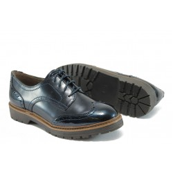 Дамски немски обувки Jana 8-23760-27 т.син