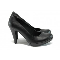 Дамски обувки на висок ток Marco Tozzi 8-22406-27 черен
