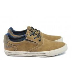 """Мъжки спортни обувки с """"мемори"""" пяна S.Oliver 5-13601-37 кафяв"""