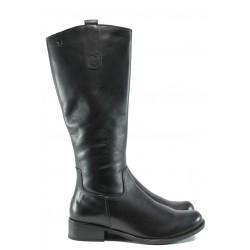 Дамски ботуши от естествена кожа за XS крак Caprice 9-25512-27G черен | Немски ботуши | MES.BG