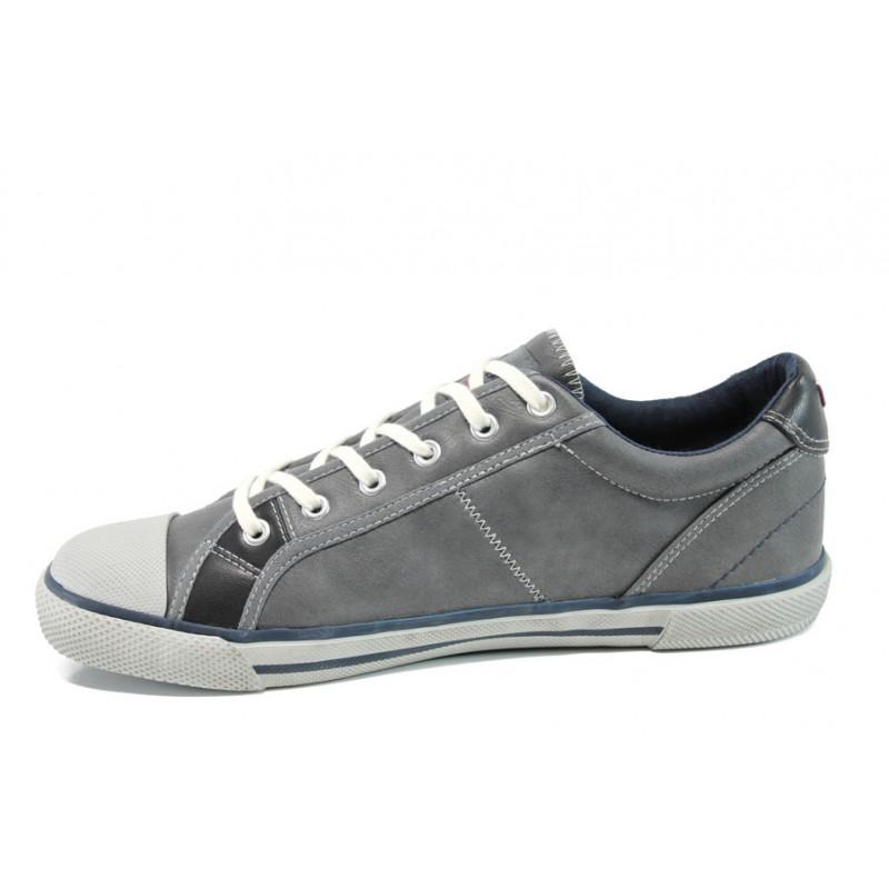 Мъжки спортни обувки S.Oliver 5-13622-38 сив | Мъжки обувки | MES.BG