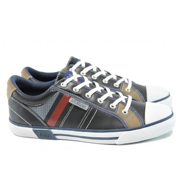 Мъжки спортни обувки S.Oliver 5-13622-38 т.син   Мъжки обувки   MES.BG