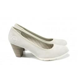 Дамски обувки на ток с мемори пяна S.Oliver 5-22405-28 сив | Немски дамски обувки | MES.BG