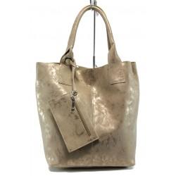 Българска дамска чанта СБ 1199 златен мейс | Дамска чанта | MES.BG