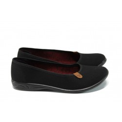 Анатомични дамски Bio обувки МА 21482 черен | Равни дамски обувки | MES.BG
