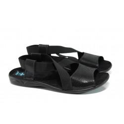 Анатомични дамски Bio сандали МА 21461 черен | Равни дамски сандали | MES.BG