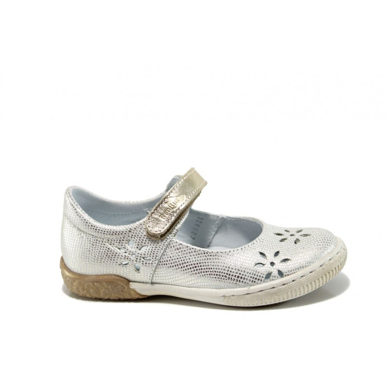 Ортопедични детски обувки от естествена кожа МА 23-3285 бял 26/30 | Детски обувки | MES.BG