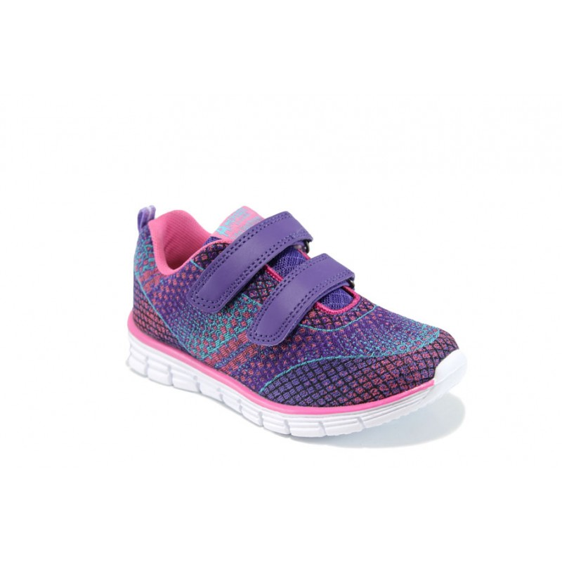Анатомични детски маратонки АБ 16744 лилав 26/31 | Детски маратонки | MES.BG