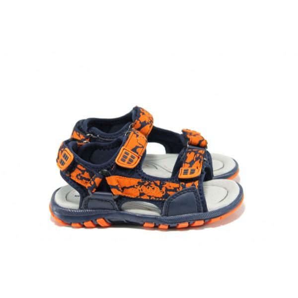 Анатомични детски сандали АБ 131926 син-оранжев 26/31 | Детски сандали | MES.BG
