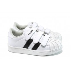 Анатомични детски обувки ПО 1130 бял 31/35 | Детски обувки | MES.BG