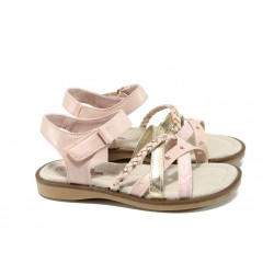 Анатомични детски сандали АБ 16812 розов 26/30 | Детски чехли и сандали | MES.BG
