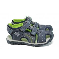 Анатомични детски сандали АБ 93319 т.син 31/35 | Детски чехли и сандали | MES.BG