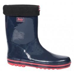 Детски гумени ботуши с топъл свалящ се чорап АБ KAL-31 син 32/36 | Гумени ботуши |MES.BG