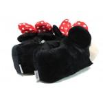 Детски домашни пантофи ДФ TEVERE G271 черен 29/35 | Домашни чехли и пантофи | MES.BG