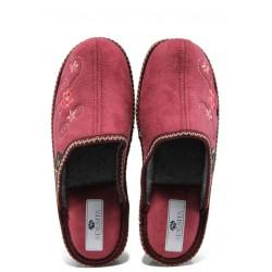 Анатомични дамски домашни чехли Spesita Despina бордо | Домашни чехли | MES.BG