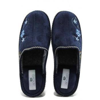Анатомични дамски домашни чехли Spesita Despina т.син | Домашни чехли | MES.BG