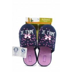 Анатомични детски домашни чехли ДФ ROMA G204 син 27/36 | Домашни чехли и пантофи | MES.BG