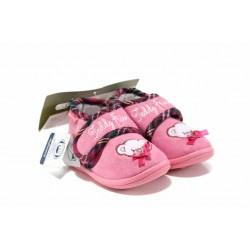 Анатомични домашни пантофи с лепенки Defonseca PESCARA G200 розов 19/30 | Домашни чехли и пантофи | MES.BG
