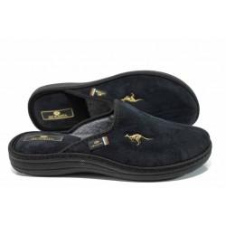 Анатомични мъжки домашни чехли Spesita 778 черен | Домашни чехли | MES.BG
