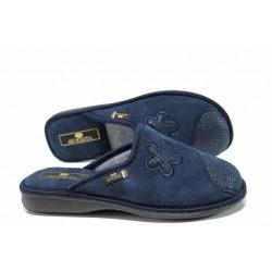 Анатомични дамски домашни чехли Spesita 17-100 т.син | Домашни чехли | MES.BG