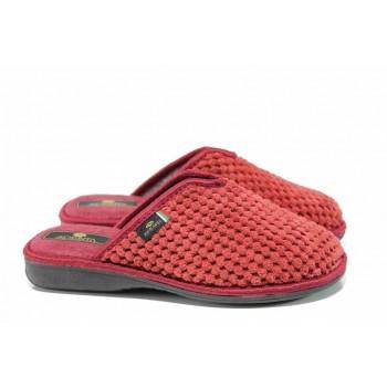 Анатомични дамски домашни чехли Spesita 17-160 бордо | Домашни чехли | MES.BG