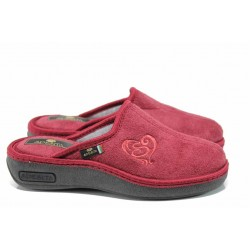 Анатомични дамски домашни чехли Spesita 17-161 бордо | Домашни чехли | MES.BG