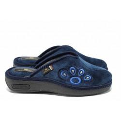 Анатомични дамски домашни чехли Spesita 17-164 т.син | Домашни чехли | MES.BG