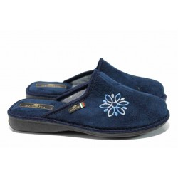 Анатомични дамски домашни чехли Spesita 17-124 т.син | Домашни чехли | MES.BG