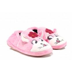 Анатомични детски домашни пантофи РС 1601245 розов котка 30/35 | Домашни чехли и пантофи | MES.BG