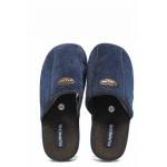Анатомични мъжки домашни чехли Runners 1601336 син | Домашни чехли | MES.BG