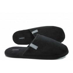 Анатомични мъжки домашни чехли Runners 172-1679 черен гигант | Домашни чехли | MES.BG