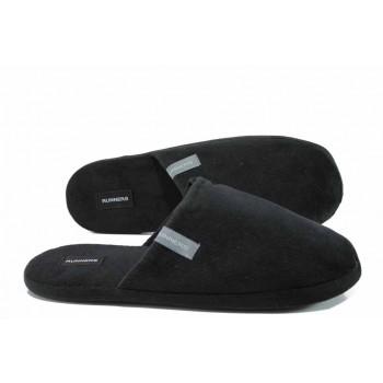 Анатомични мъжки домашни чехли РС 172-1679 черен гигант | Домашни чехли | MES.BG