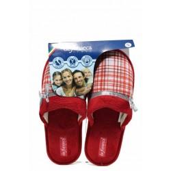 Анатомични дамски чехли ДФ BARI TOP W206 червен | Домашни чехли | MES.BG