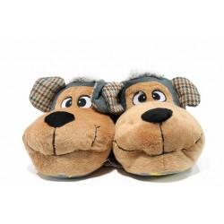 Дамски домашни пантофи ДФ TEVERE W236 сив | Домашни чехли и пантофи | MES.BG