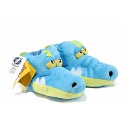 Детски домашни пантофи ДФ TEVERE K224 син 29/35 | Домашни чехли и пантофи | MES.BG