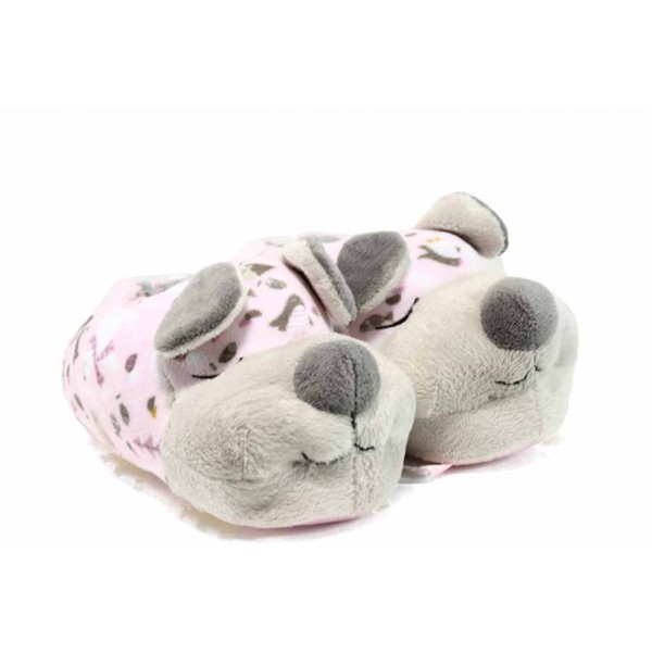 Детски домашни пантофи Defonseca TEVERE G207 сив-розов 29/35 | Домашни чехли и пантофи | MES.BG