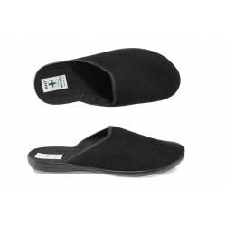 Анатомични мъжки чехли с Bio ходило МА 21115 черен | Домашни чехли | MES.BG