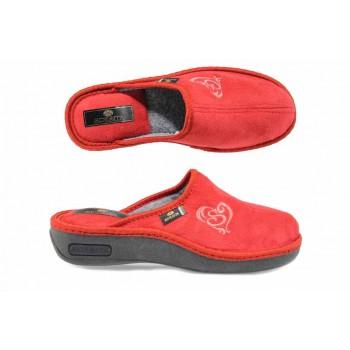 Анатомични дамски домашни чехли Spesita 17-161 червен   Домашни чехли   MES.BG