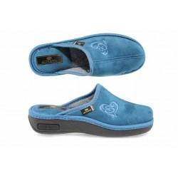 Анатомични дамски домашни чехли Spesita 17-161 св.син | Домашни чехли | MES.BG