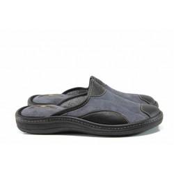 Анатомични мъжки домашни чехли Spesita 17-190 сив | Домашни чехли | MES.BG