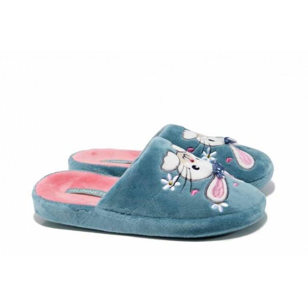 Анатомични детски домашни чехли Runners 160898 син 30/35   Домашни чехли и пантофи   MES.BG
